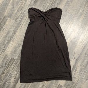 Victoria's Secret Brown Bra Top Strapless Dress